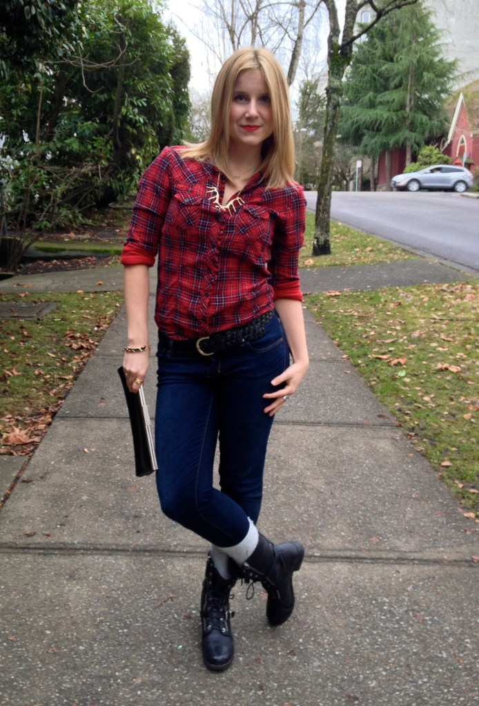 Top GAP   Jeans ABERCROMBIE & FITCH   Boots ALDO