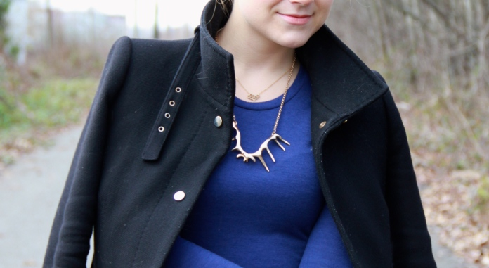 Honeycomb Necklace, formerly known as LOFT 82, now NOUL   Antlers Necklace OLIVE + PIPER