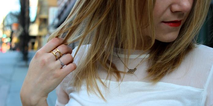 NOUL Honeycomb Necklace