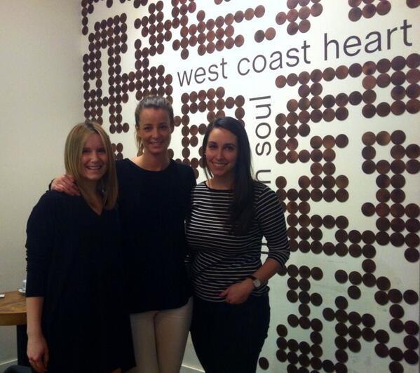 Myself, RAW Founder Erin Treloar & Victoria #WestCoastHeart
