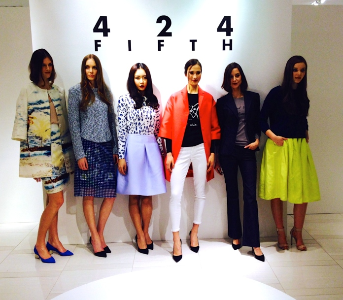 The outfits showcased at the Spring/Summer '14 Preview.