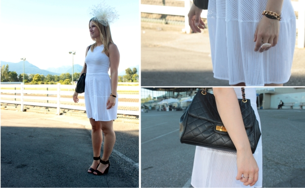 Fascinator ENTITLED CANADA | Dress BCBG MAXAZRIA | Shoes H&M | Photos by Joshua D Langston
