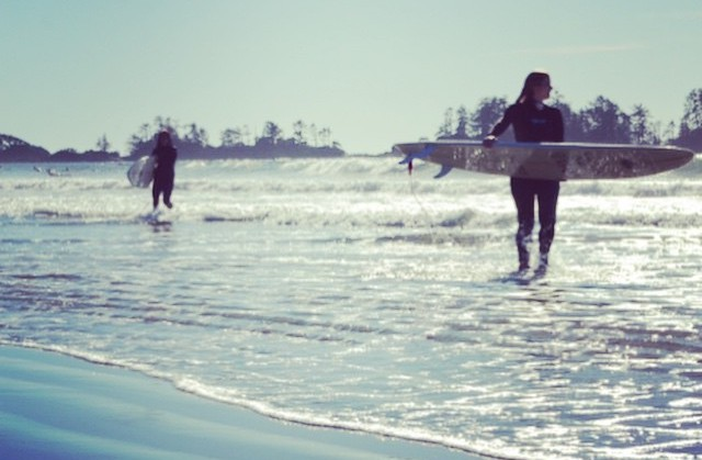 Surfing in Tofino #MMxLB